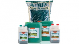AQUA-Substrat, Nährstoffe und Zusatzstoffe
